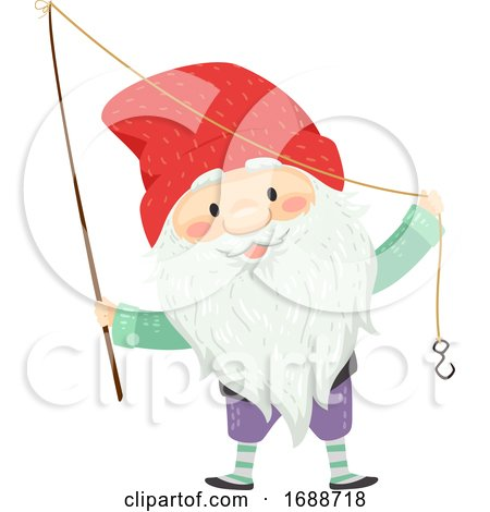 Iceland Yule Lad Meat Hook Illustration by BNP Design Studio