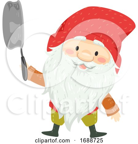Iceland Yule Lad Stubby Illustration by BNP Design Studio