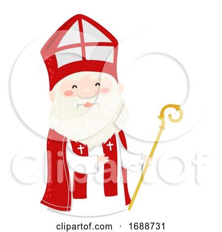 Saint Nicholas Illustration by BNP Design Studio
