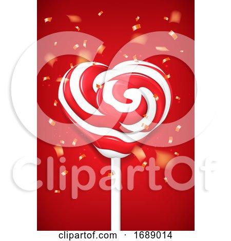 Heart Loli Pop Posters, Art Prints