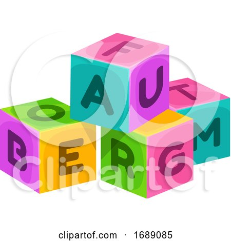 Toy Blocks by Vector Tradition SM