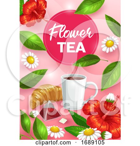 Tea Background Posters, Art Prints