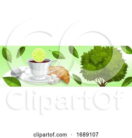 Tea Banner Posters, Art Prints