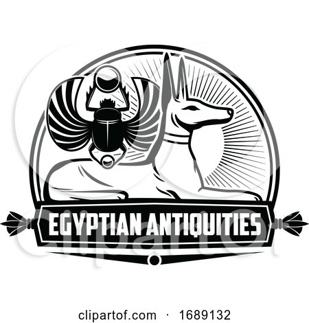 Ancient Egyptian Design by Vector Tradition SM