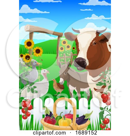 Farm Animals by Vector Tradition SM