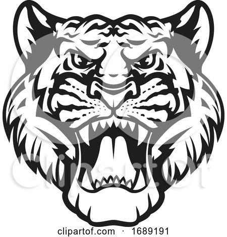 Roaring Tiger by Vector Tradition SM