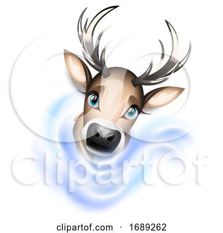 Christmas Reindeer by Oligo