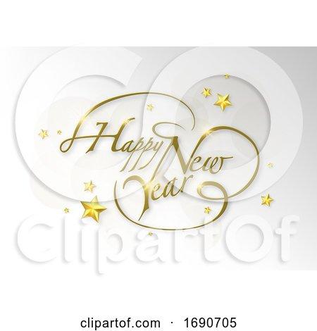 Happy New Year Greeting by dero