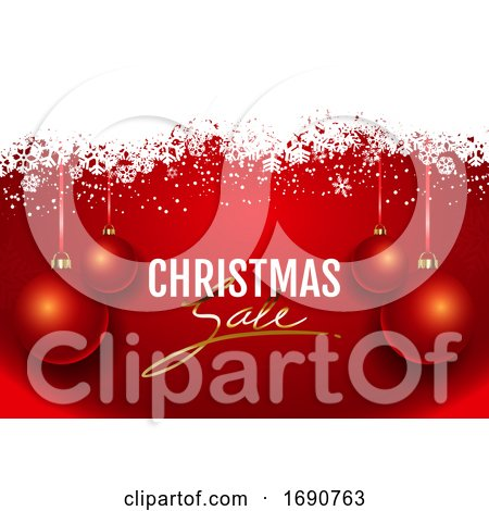 Christmas Sale Background by KJ Pargeter