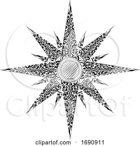 Star Abstract Illustration by AtStockIllustration