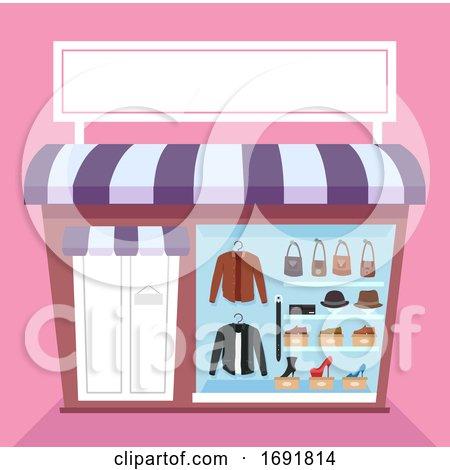 Leather Items Shop Illustration by BNP Design Studio