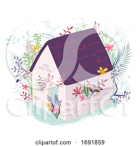 House Plants Illustration by BNP Design Studio