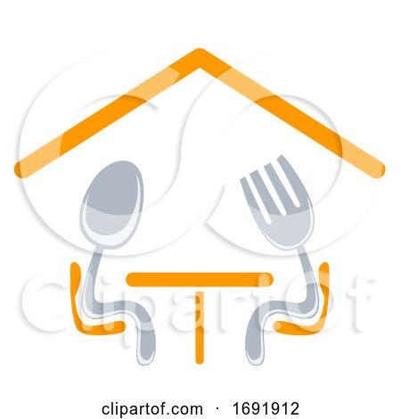Dining Icon Design Illustration by BNP Design Studio