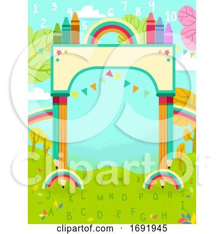 Colors Arch Nature 123 Illustration by BNP Design Studio