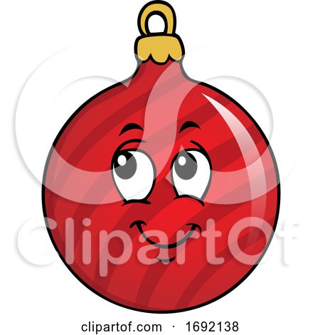 Christmas Bauble Ornament by visekart