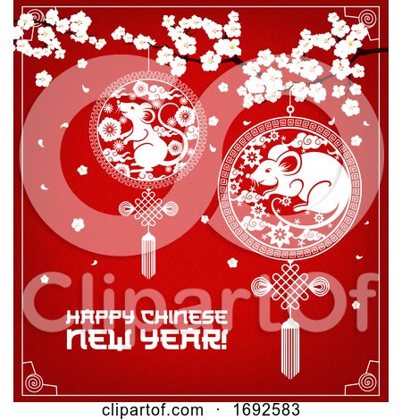Happy Chinese New Year Design by Vector Tradition SM #1692583