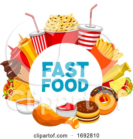Fast Food Design by Vector Tradition SM