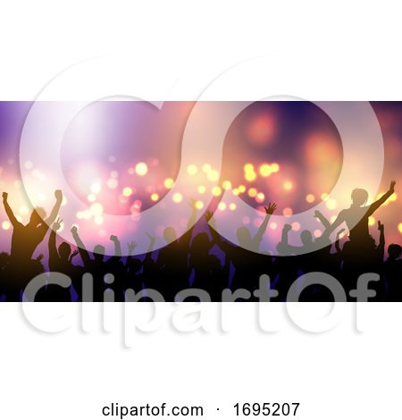 Party Crowd Banner Design by KJ Pargeter