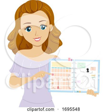 Teen Girl Wedding Planner Illustration by BNP Design ...