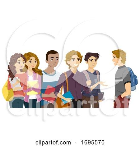 Teen Group Solidarity Illustration by BNP Design Studio ...