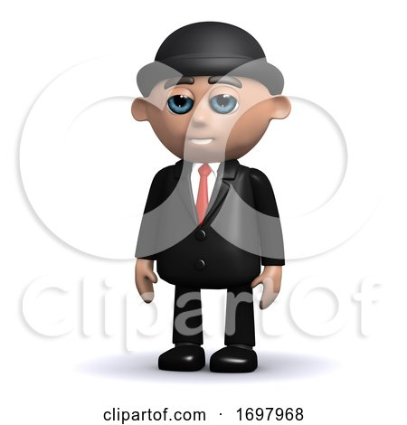 3d Businessman by Steve Young