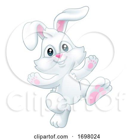 Easter Bunny Rabbit Cartoon Posters, Art Prints