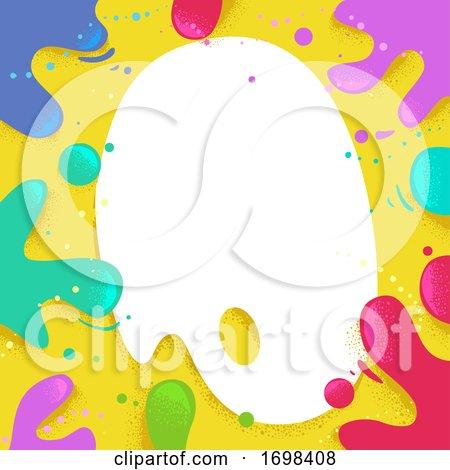 Palette Board Splats Background Illustration by BNP Design Studio