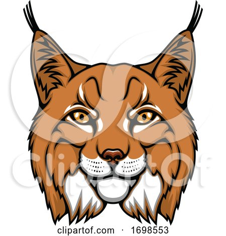 Tough Lynx Mascot by Vector Tradition SM