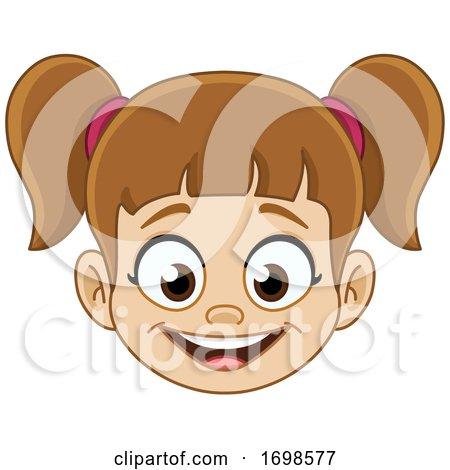 Girl Smiling by yayayoyo
