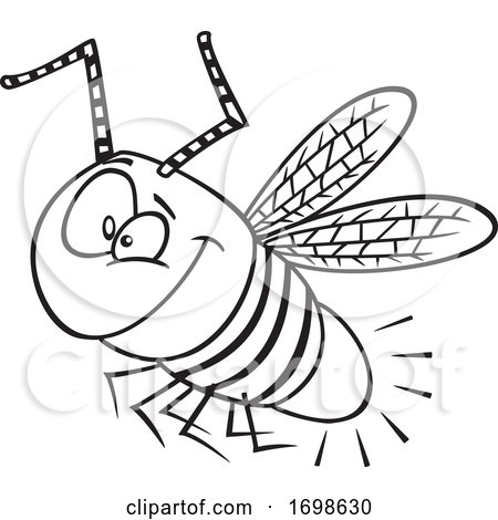 Black and White Happy Firefly Bug Posters, Art Prints