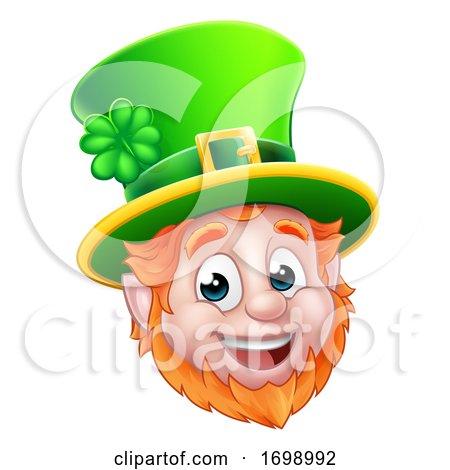 Leprechaun St Patricks Day Cartoon by AtStockIllustration