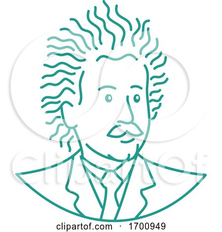 Nerdy Albert Einstein by patrimonio