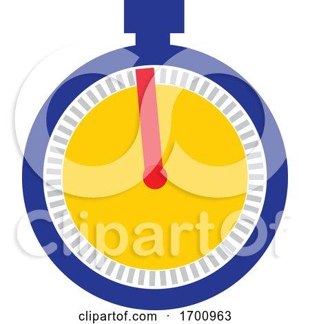Stopwatch Icon by patrimonio