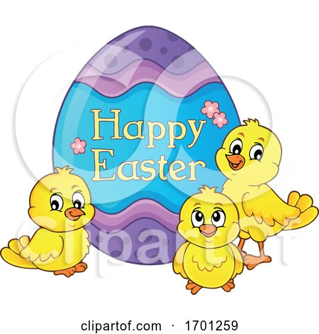 Easter Chicks and Egg Posters, Art Prints