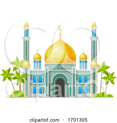 Mosque by Vector Tradition SM