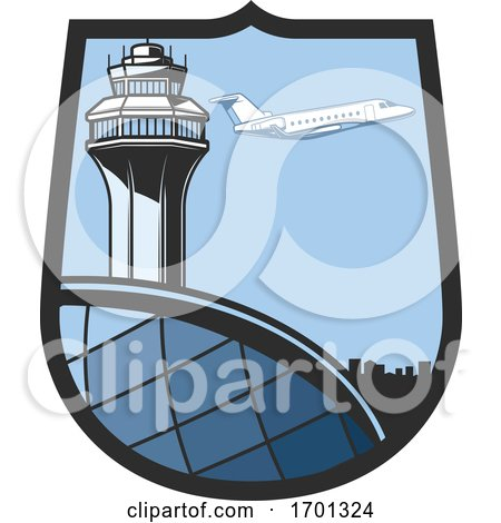 Airplane Travel Design by Vector Tradition SM