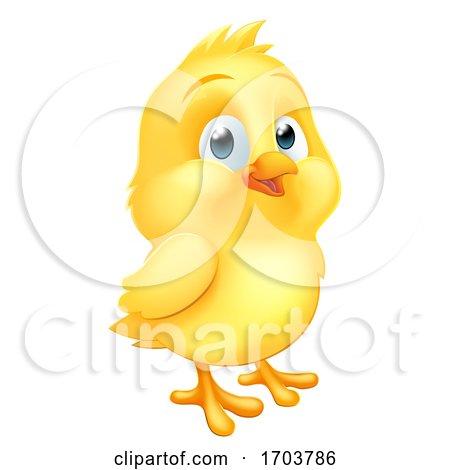 Easter Chick Little Baby Chicken Bird Cartoon Posters, Art Prints