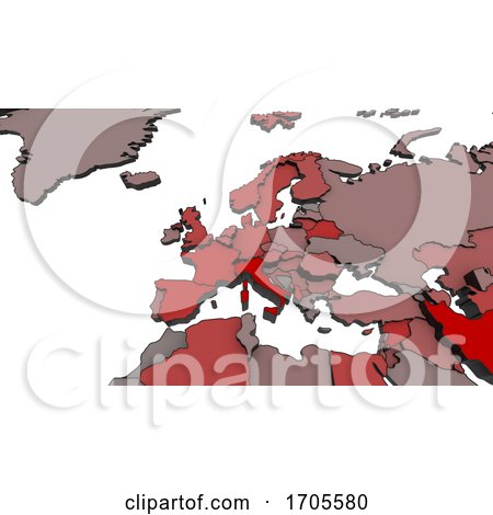 Covid 19 Pandemic Map by KJ Pargeter