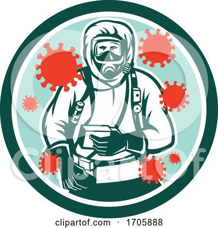 Coronavirus_haz_chem_suit_front_CIRC_RETRO by patrimonio