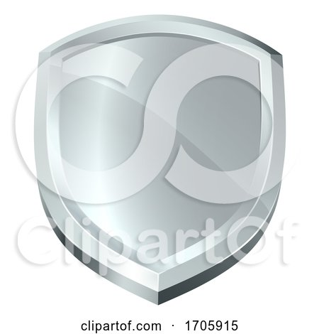 Shield Icon Secure Protect Security Defence Icon by AtStockIllustration