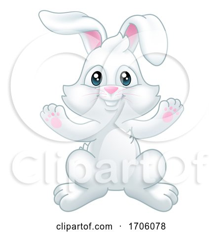 Easter Bunny Rabbit Cartoon Posters, Art Prints