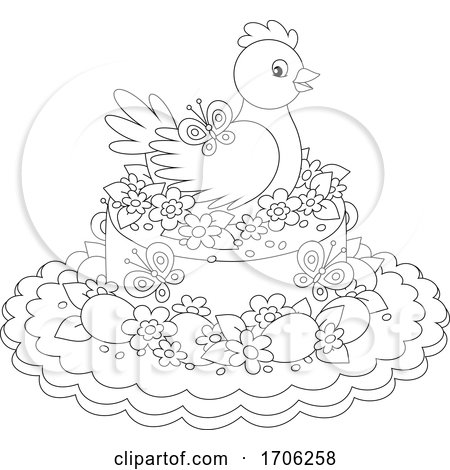 Easter Cake Posters, Art Prints
