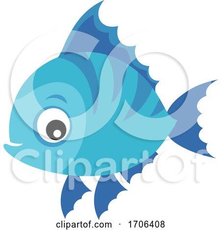 Blue Fish by visekart