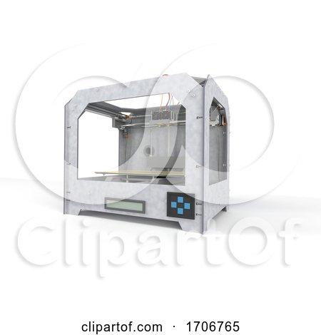 Home 3d Printer by KJ Pargeter
