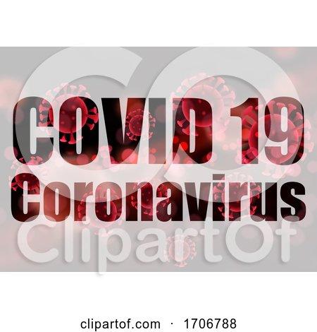 Covid 19 Coronavirus Medical Background by KJ Pargeter