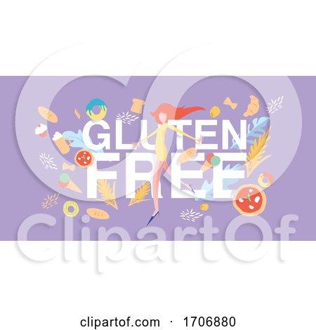 Gluten Free Banner by Domenico Condello