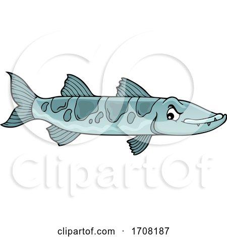 Barracuda Fish by visekart
