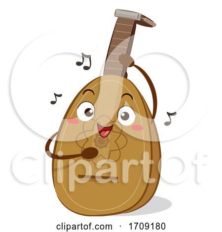 Mascot Lute Illustration by BNP Design Studio