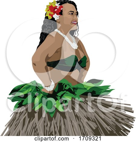 Polynesian Dancer by dero