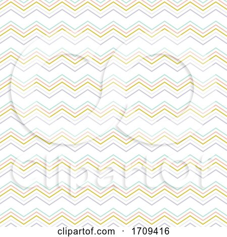 Abstract Chevron Stripes Pattern Design by KJ Pargeter